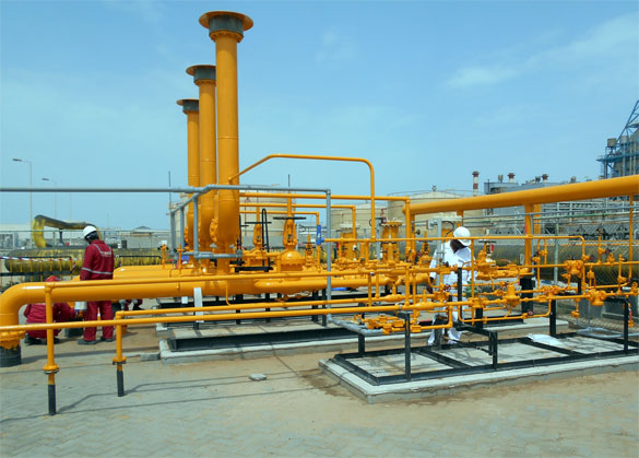 Natural gas pipline fabrication and installation
